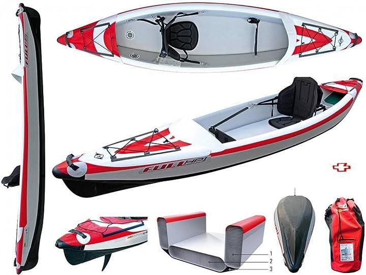 Canoa gonfiabile bic sport 101497 yakkair full hp 1 one 10554