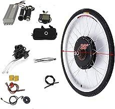 Kit de conversión de motor trasero para bicicleta eléctrica, 500 W, 36 V, 28 pulgadas, motor trasero
