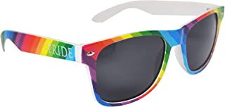 Colourful Gay Pride Drifter Rainbow Style Sunglasses (WSPSG1)