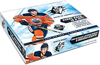 2018/19 Upper Deck SPx NHL Hockey box (4 cards)