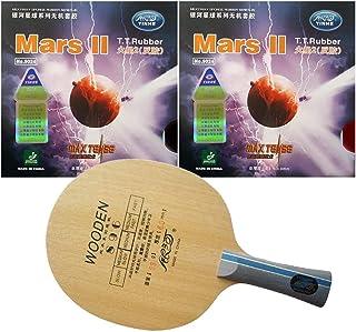 Table Tennis Rackets - Pro Table Tennis (Ping Pong) Combo Racket: Galaxy YINHE 896 + 2Pcs Galaxy YINHE Mars II (Factory Tu...