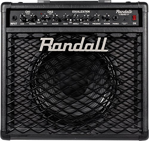 Randall RG80 Solid State Guitar Amp Combo with Reverb - Footswitch Included