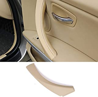 Door handle Outer Covers For BMW 3 Series E90 E91, TTCR-II Beige Right Front/Rear Interior Door Handle Clasp Passenger Side Door Handle Outer Trim (Fits: 323 325 328 330 335 Sedan&Touring)