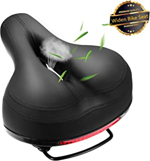 Comfortable Bike Seat Bicycle Saddle Thickening of The...