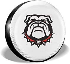 Redemption Sun Georgia Bulldogs Print Spare Tire Wheel Cover Waterproof Dust-Proof Universal Tire Covers - Jeep,Trailer, RV, SUV, Truck and Many Vehicles 14