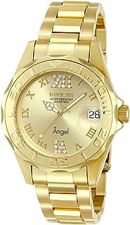 ساعة انفيكتا للنساء 14397 انالوج بعقارب سويسرية كوارتز ذهبي