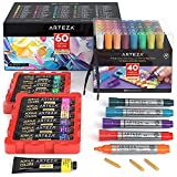 Arteza Acrylic markers and Paint Bundle, Painting...