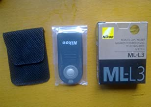 Nikon ML-L3 Wireless Remote Control for Select Nikon D-SLR and CoolPix Cameras