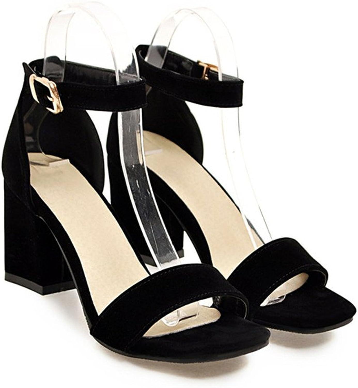Chaidan Women shoes Sandals Summer Ankle Wrap Sandals High Heels High Heel Work
