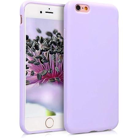 kwmobile Cover per Apple iPhone 6 / 6S - Cover Custodia in Silicone TPU - Backcover Protezione Posteriore- Lavanda