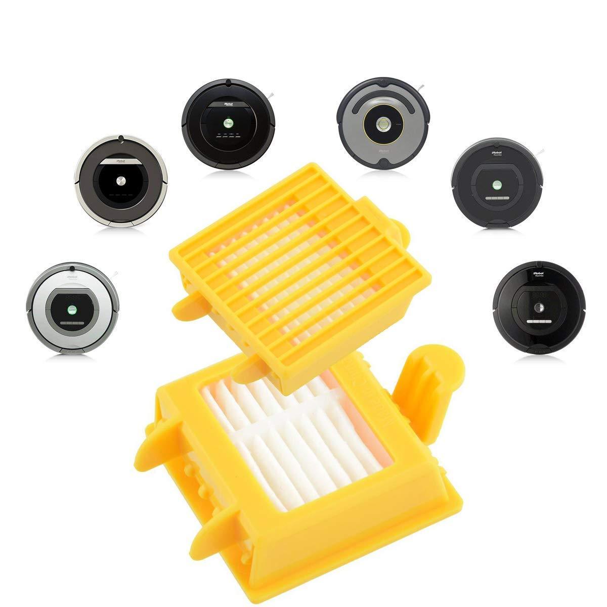 a SUPON Kit de reemplazo Roomba Kit de Accesorio de reemplazo para iRobot Roomba 700 Series 700 720 750 760 770 772 774 775 776 780 782 785 786 786p 790 Repuesto del Filtro