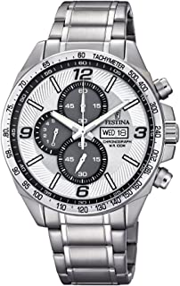 Festina F6861/1 For Men - Analog Casual Watch Stainless Steel