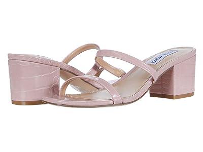 Steve Madden Issy Heeled Sandal (Pink Croco) Women