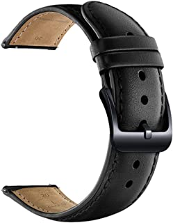 Best 20mm watch band leather Reviews
