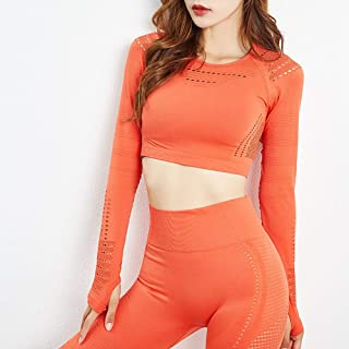 Nobrand Hollow Breathable Yoga Set Workout Clothes and Sport Bra Women Gym Set Clothes Seamless Workout Sports Set