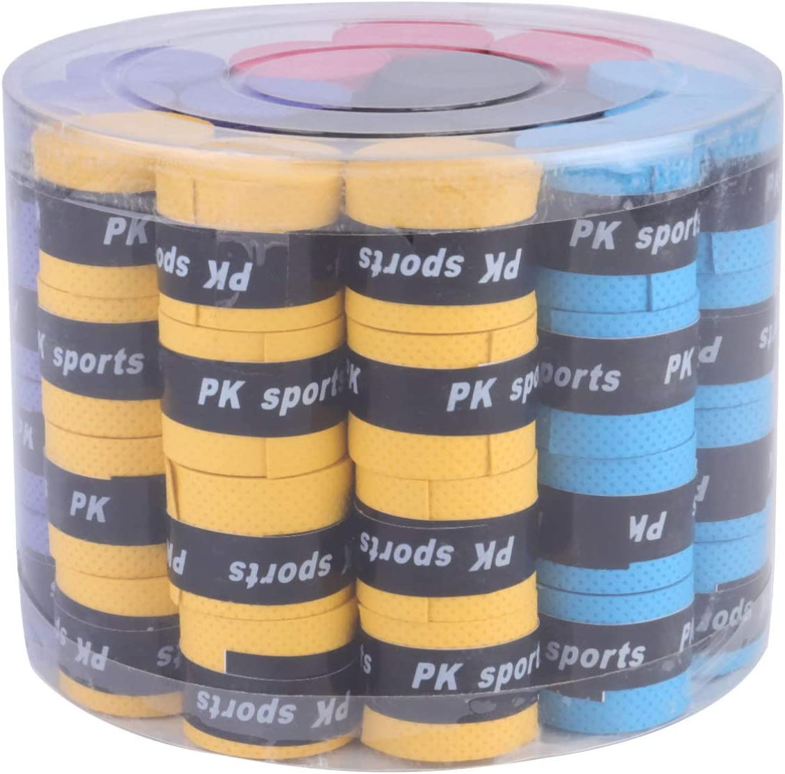 BESPORTBLE 60 Pieces Max 68% OFF unisex Tennis Racket Grips Tape Badminton O