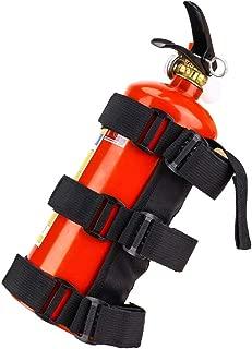 Fire Extinguisher Holder Adjustable Roll Bar Fire Extinguisher Mount Strap UTV Speaker Mount Fits Polaris RZR Ranger Can Am Jeep Wrangler Unlimited CJ JK TJ Rubicon Sahara Sport