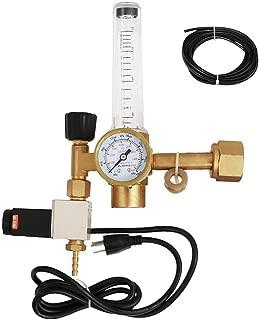 SPARC CO2 Flowmeter w/120V Solenoid Grow Rooms PPM