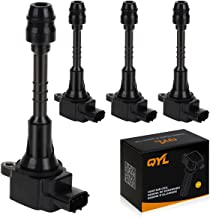 Set of 4 Ignition Coils Replacement for Sentra 2002-2006 1.8L 4Cyl fits UF-351/UF351
