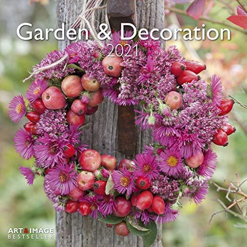 Garden & Decoration 2021 - Wand-Kalender - Broschüren-Kalender - A&I - 30x30 - 30x60 geöffnet