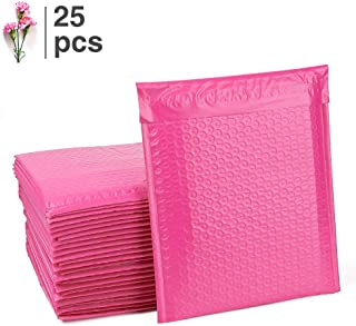 Fu Global #2 Pink Bubble Mailers 8.5x12 Inches Padded Envelopes Pack of 25