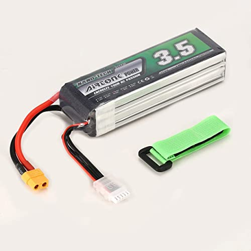 tienda de venta Comomingo Airtonk Power 14.8V 3500mAh 60C 4S 1P Lipo Batería Batería Batería XT60 Plug para RC Drone Car (negro)  promociones