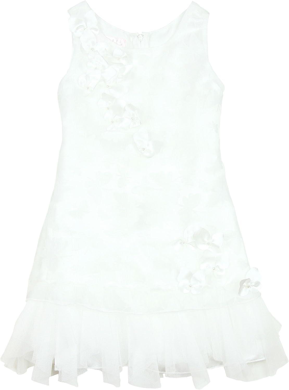 Biscotti Girls' Ivory Dress Butterfly Waltz, Sizes 7-16