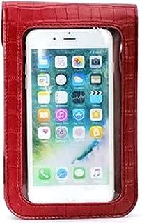 Ganghuo Sac à main pour téléphone portable avec écran tactile - En cuir synthétique - Pour femme et fille