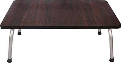 Ebee Multipurpose Multicolor Wooden Bed Table for Study/Craftwork/Using Laptop(Color May Very)