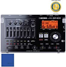 Boss BR-800 8-track Digital Recorder with 1 Year Free Extended Warranty and Microfiber