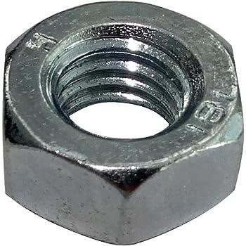 """Acier écrous hexagonaux-Unc Imperial Zinc Plaqué 1//2/"""" Qté x 100"""