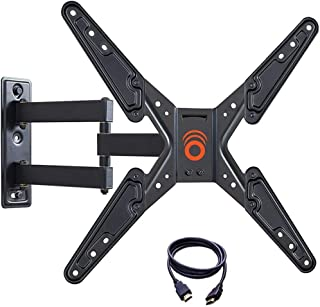 ECHOGEAR Full Motion TV Wall Mount Bracket for 26-55 Inch TVs – Extend, Tilt and Swivel..