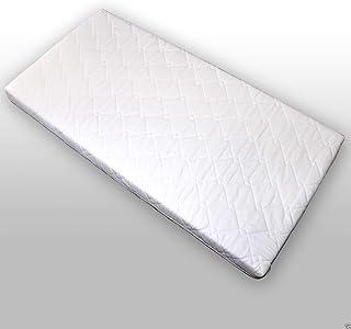 Colchón para cama infantil, acolchado (120 x 60 x 9 cm), color blanco