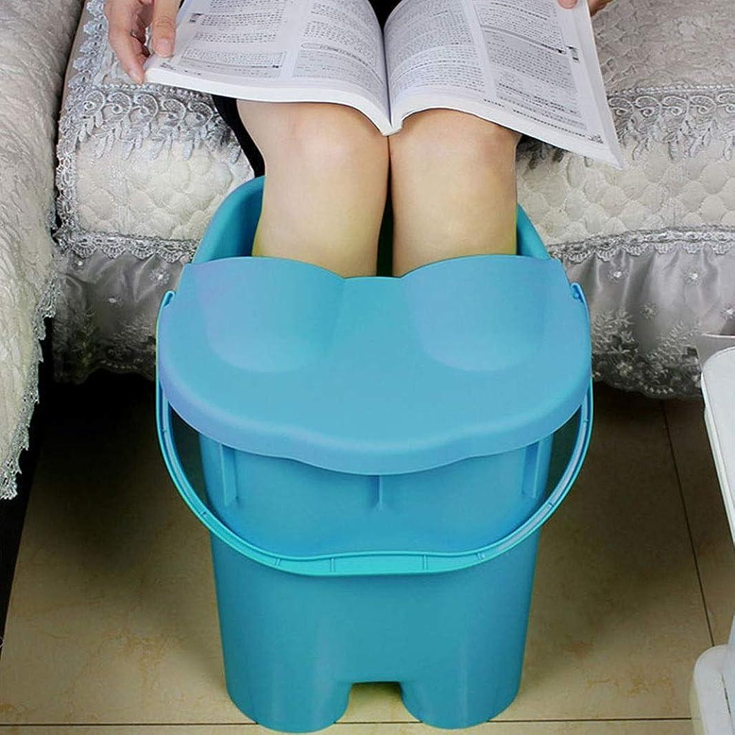 フットバスバレル- ?AMT/マッサージ足湯用バケツ、家庭用スパ、高容量携帯用足浴槽 Relax foot (色 : A)