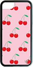 Wildflower Limited Edition iPhone Case for iPhone 6 Plus, 7 Plus, or 8 Plus (Pink Cherries)