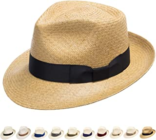 0cbcd994 Amazon.com: Beige - Panama Hats / Hats & Caps: Clothing, Shoes & Jewelry