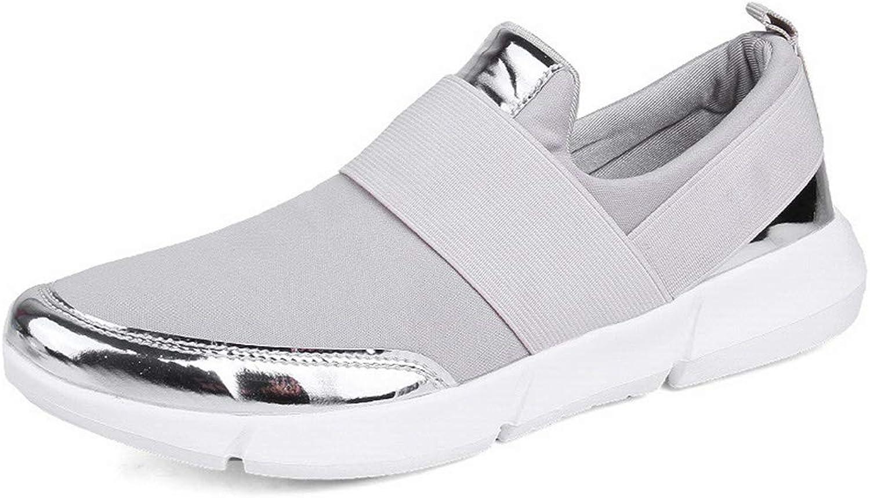 YaMiFan Women Sneaker Casual Platform Flats shoes Ladies Air Mesh shoes Footwear