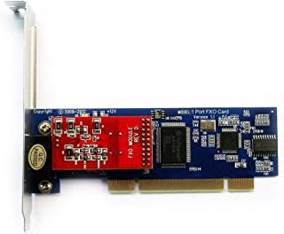 FXO Card with 1 FXO Port,Supports Issabel FreePbx Asterisk Card with Low Profile