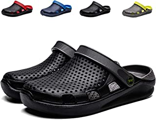 eccbox Unisex Garden Clogs Womens Mens Quick Drying Beach Sandals Comfort Slip On Casual Water Shoes Indoor Outdoor Summer Slippers