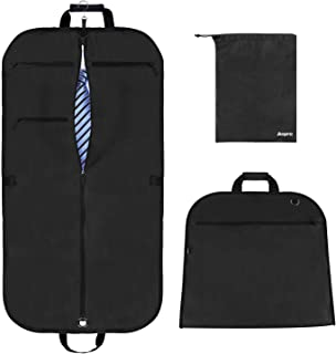 Anpro 44x22 Inch Suit Carrier Bag, Travel Suit Carrier for Mem Women on Business Trips, Suit Bag with Adjustable Shoulder ...
