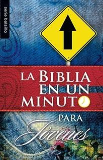 La Biblia en un Minuto: Para Jovenes (Serie Bolsillo) (Spanish Edition)