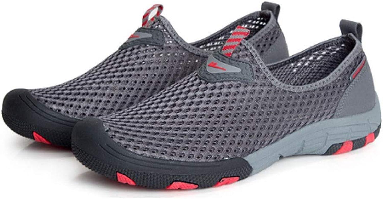 Herrenschuhe, Sommer Mesh Schuhe, atmungsaktive Turnschuhe, Freizeitschuhe, Herren Sandalen Sandalen Mesh, (Farbe   G , Größe   41EU)  billiger Verkauf