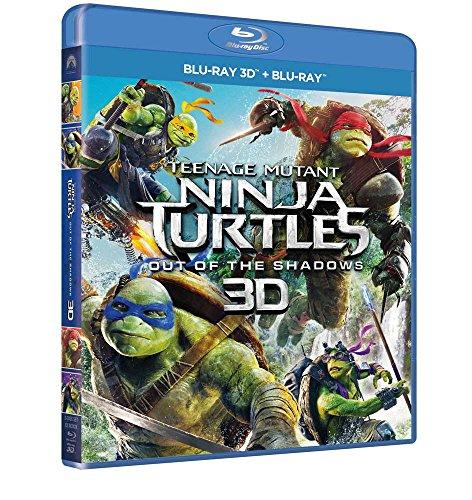 Tartarughe Ninja 2: Fuori dall'Ombra (Blu-Ray 3D + Blu-Ray) [Italia] [Blu-ray]