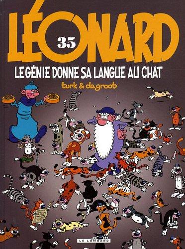 Léonard, Tome 35 : Le génie donne sa langue au chat