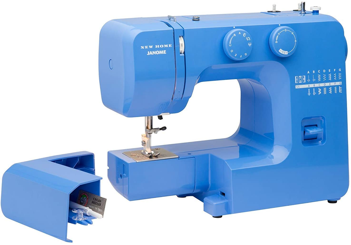 Janome Blue Couture Easy-to-Use Sewing Machine Interior with Denver Mall Met We OFFer at cheap prices