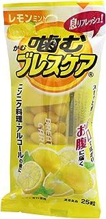 噛むブレスケア レモンミント 25粒入×5個セット