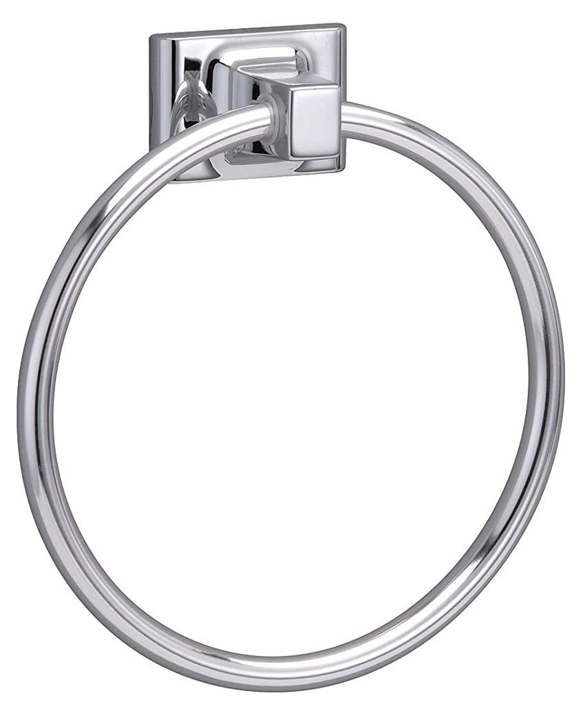 Taymor 01-9404 Sunglow Series Towel Ring, Polished Chrome