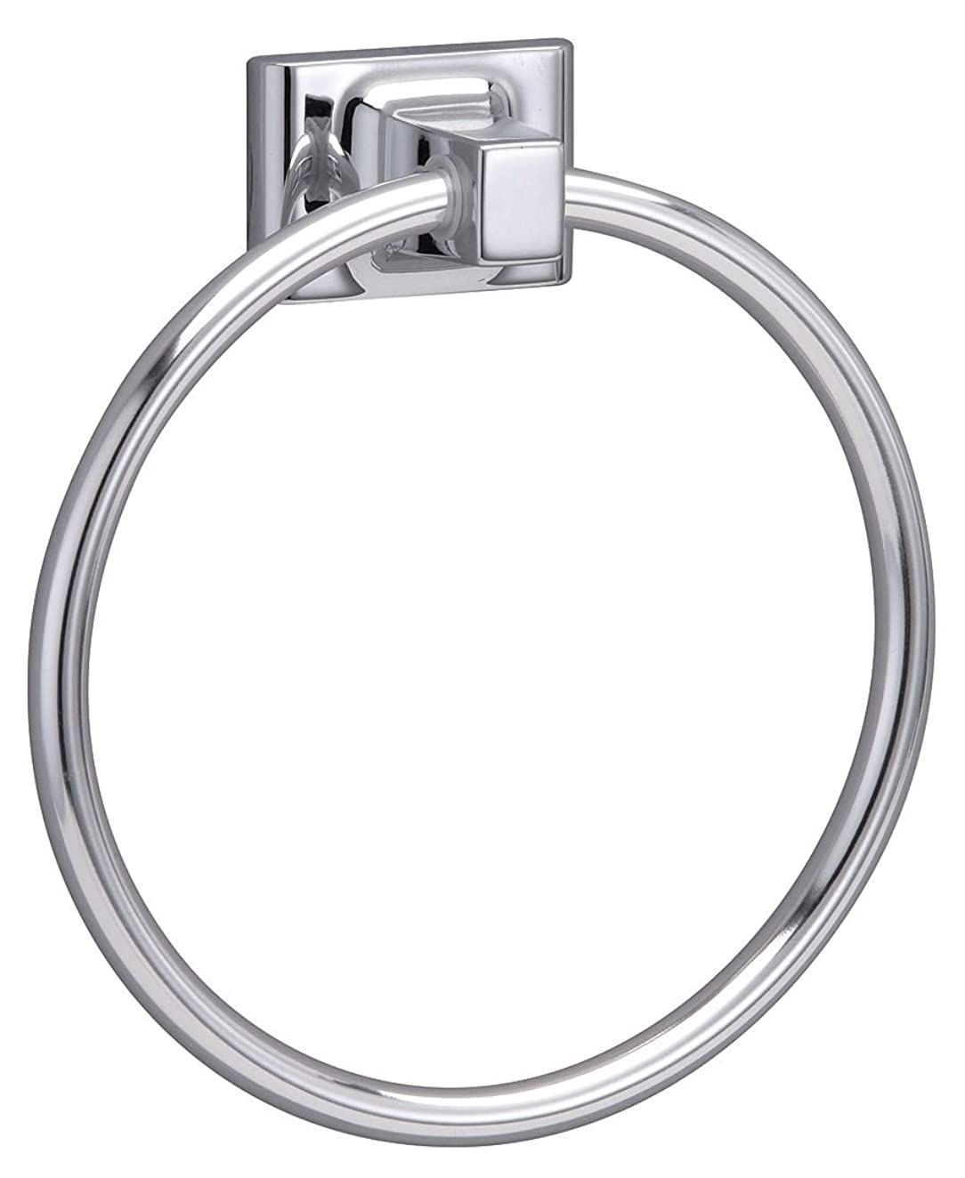 通路充電Taymor 01-9404 Sunglow Series Towel Ring, Polished Chrome
