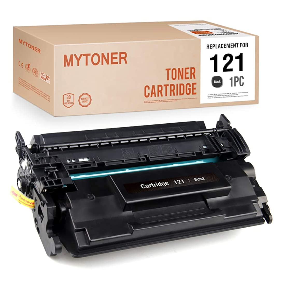 MYTONER Compatible Toner Cartridge Replacement for Canon Toner 121 Work with Canon imagelass D1650 imagelass D1620 Printer (Black, 1-Pack)