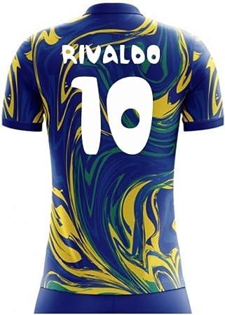 2020-2021 Brazil Away Concept Football Soccer T-Shirt Maglia ...
